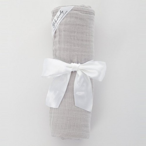 Gray Cotton Swaddle