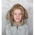Hound Dog Eskimo Kids Faux Fur Hats