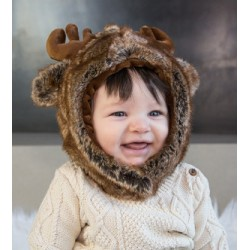 Moose Eskimo Kids Faux Fur Hats