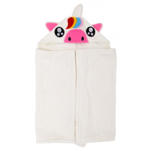 Fluffy Hooded Towel