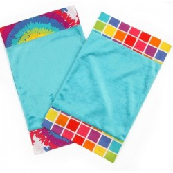 Terrific Tie Dye - Burp Cloth